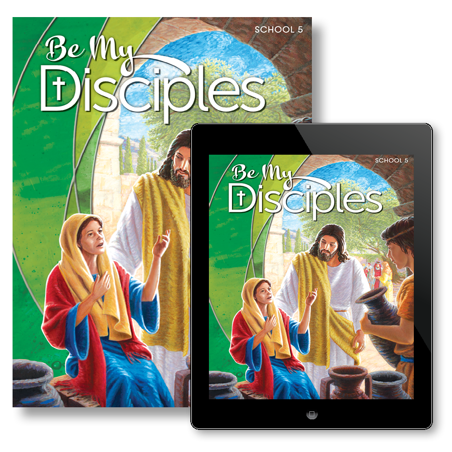 Be my disciples school student textbook with free ebook grade 5 be my disciples school student textbook with free ebook grade 5 rcl benziger fandeluxe Image collections