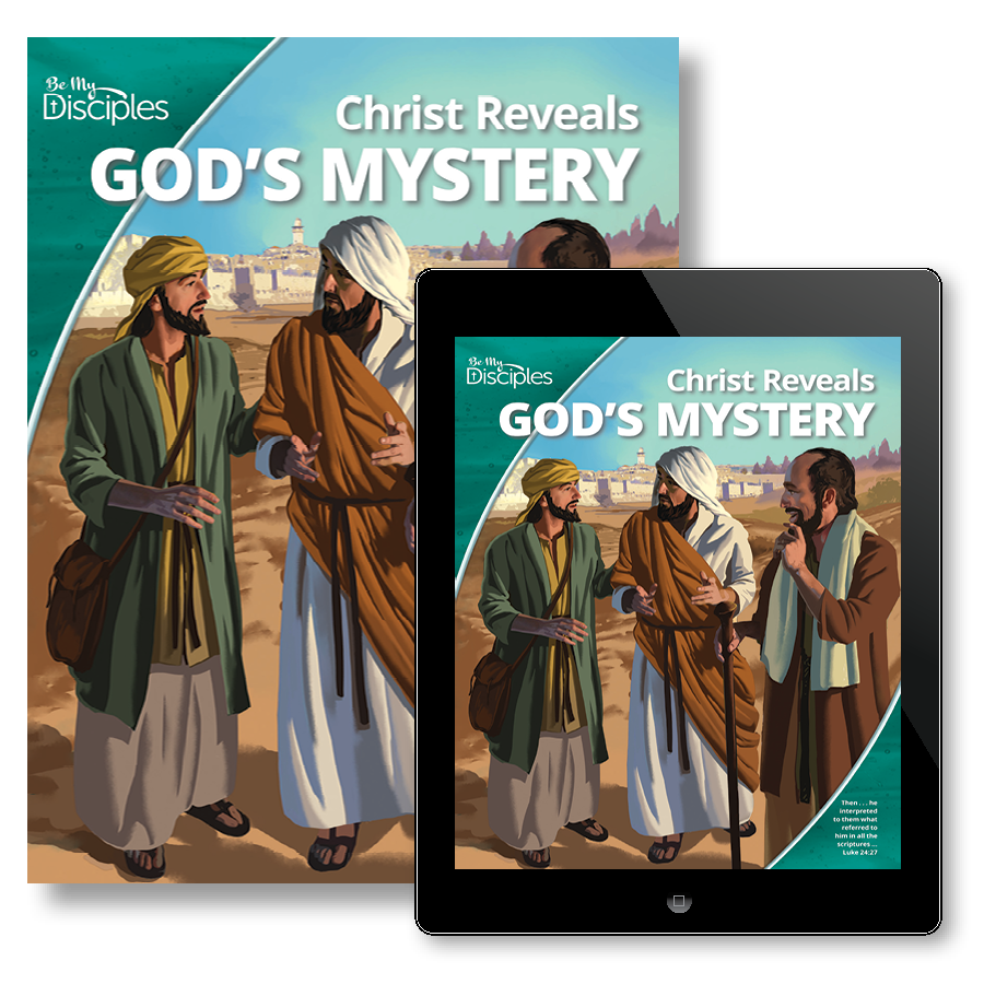Be my disciples junior high student textbook with free ebook be my disciples junior high student textbook with free ebook christ reveals gods mystery rcl benziger fandeluxe Image collections