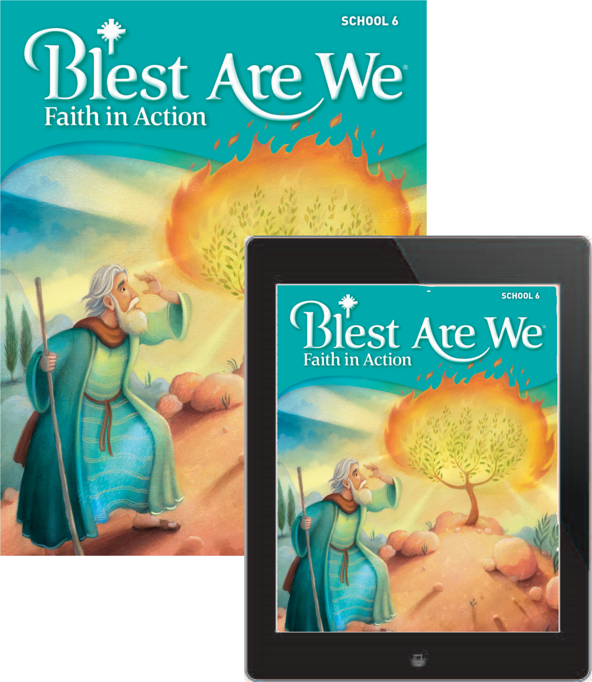 Blest are we faith in action school student book with ebook blest are we faith in action school student book with ebook grade 6 fandeluxe Images