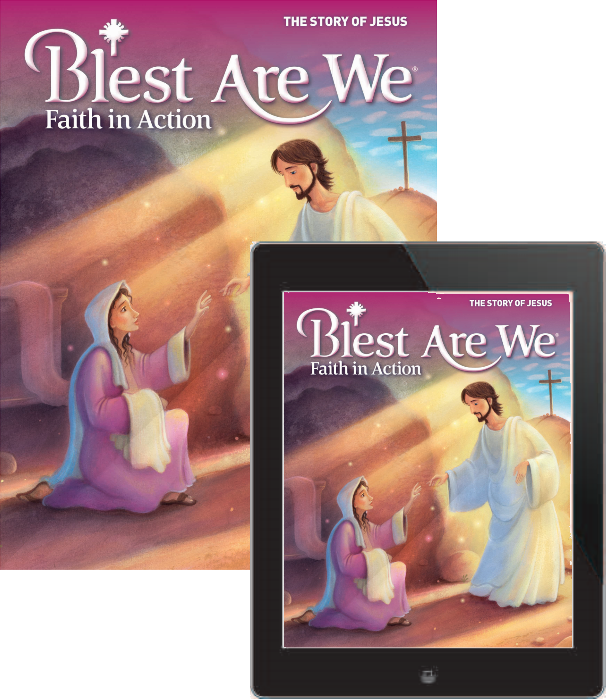 Blest are we faith in action junior high student book with ebook blest are we faith in action junior high student book with ebook grade 7 the story of jesus fandeluxe Images