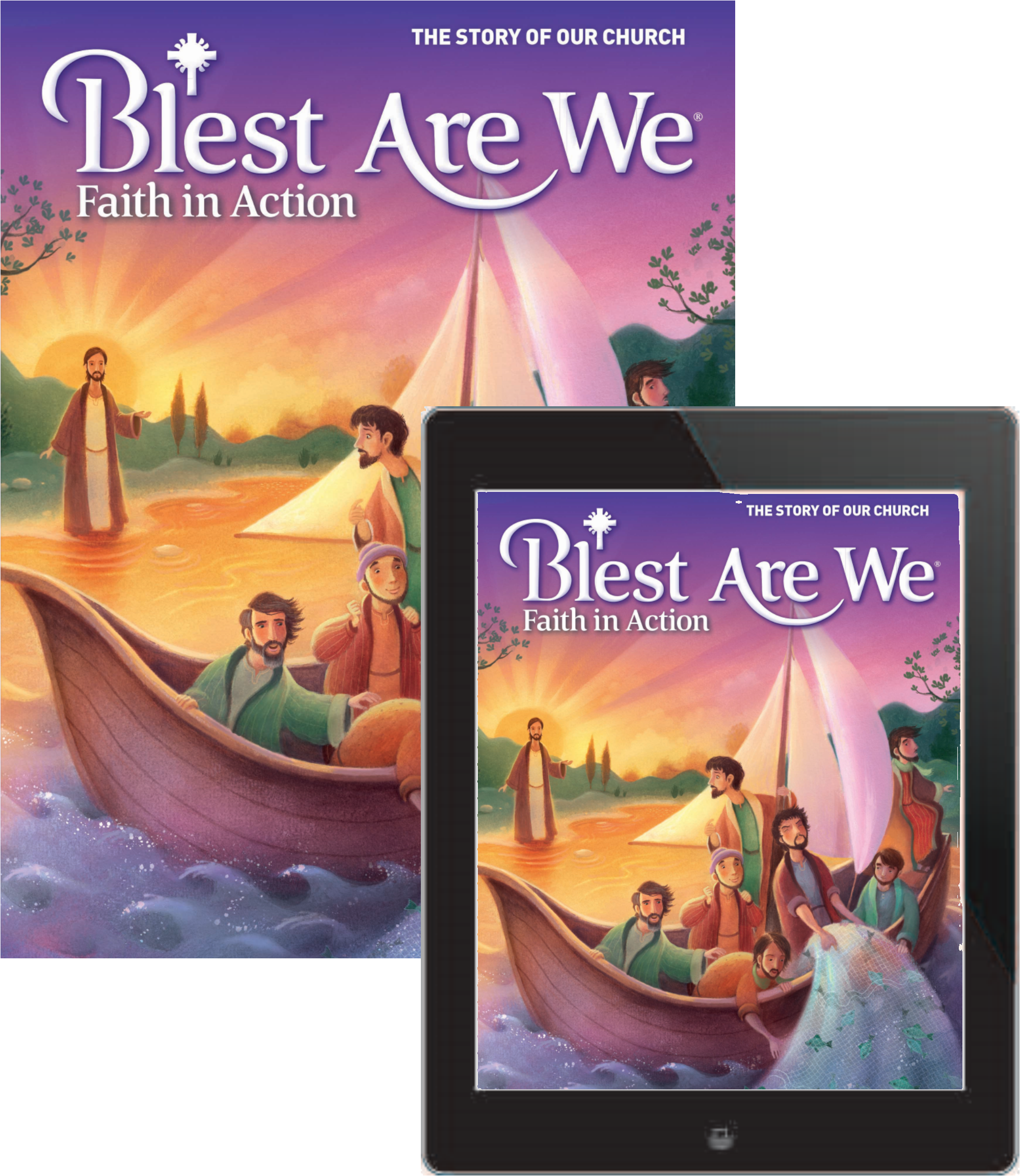 Blest are we faith in action junior high student book with ebook blest are we faith in action junior high student book with ebook grade 8 the story of our church fandeluxe Images